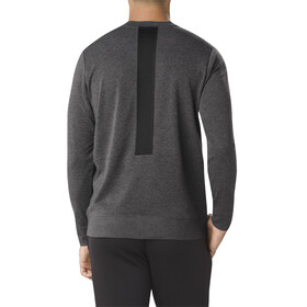 asics fuzeX Crew Top Men dark grey heather